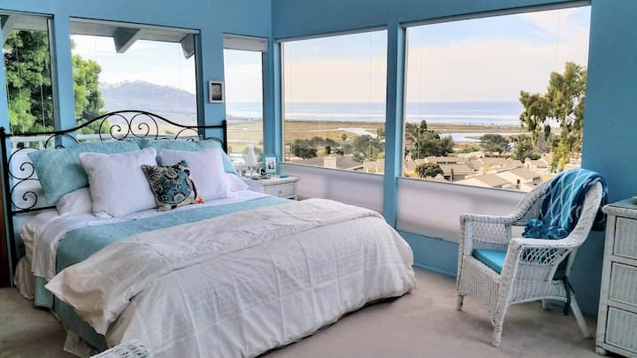Del Mar Terrace Home W/ Ocean View From Every Room