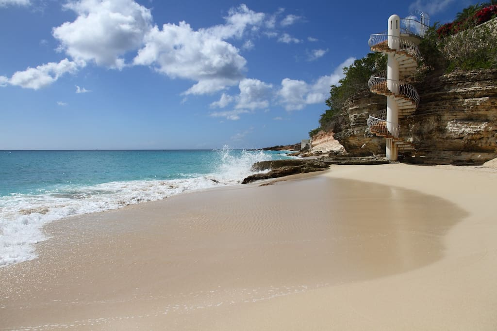 Meet your private Ocean. Middle section of the  private access beach.