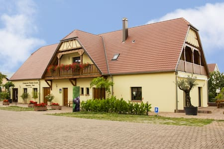Chambre 2 pers chez le vigneron - Ammerschwihr - Bed & Breakfast