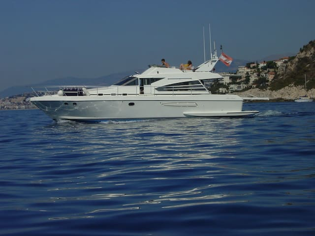 Relax on a 14m yacht - Menton - Barco