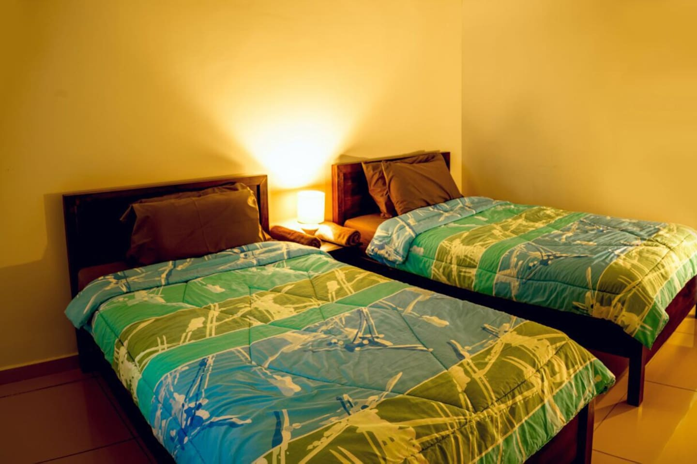 2 Super Single beds