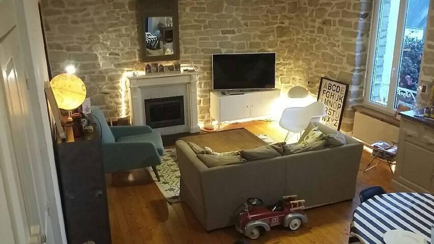 Jolie maison cosy années 30 - Quimper - Dom