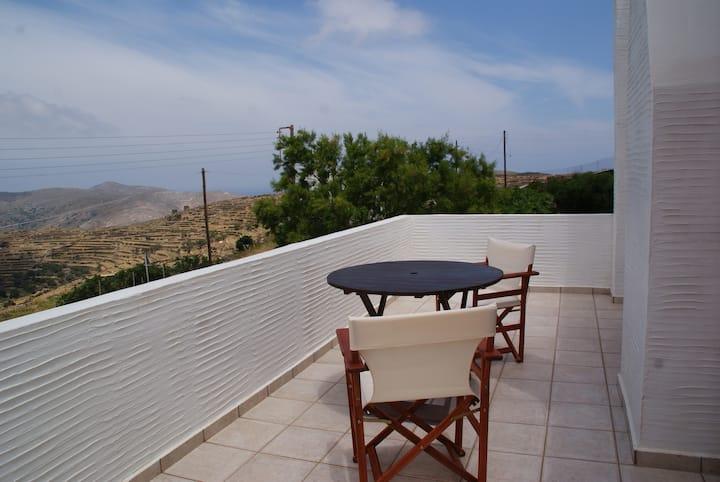 villa on the top of Pyrgos