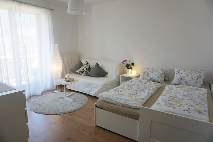 Bedroom 2  Bed 160x200 Sofabed for 2