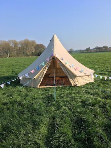 Luxury 5 Meter Bell Tent