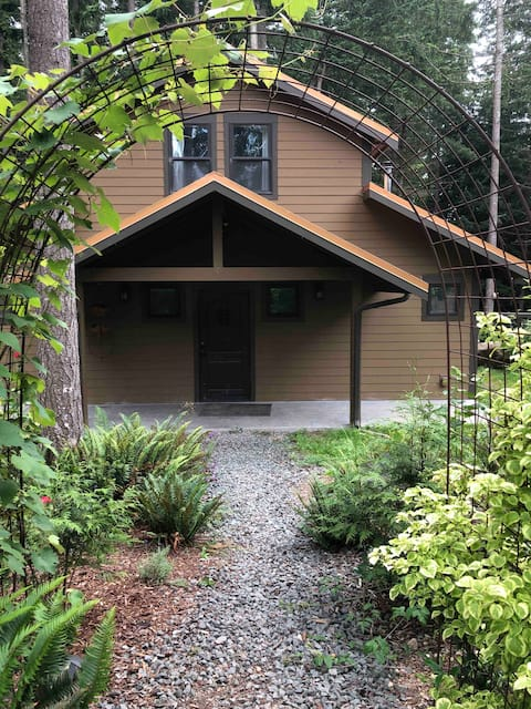 Private home on 2.5 shared acres