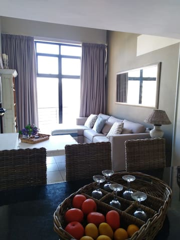 Bright Penthouse apartment, view of Strand beach