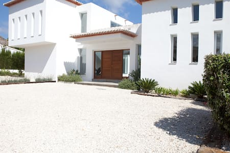 Beautiful Luxury Open Plan Ibizian Style Villa - Javea