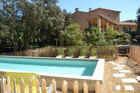 Magnifique Villa avec Piscine proche d'Uzès - Saint-Siffret