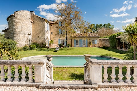 A serene stay at the gates of Uzès