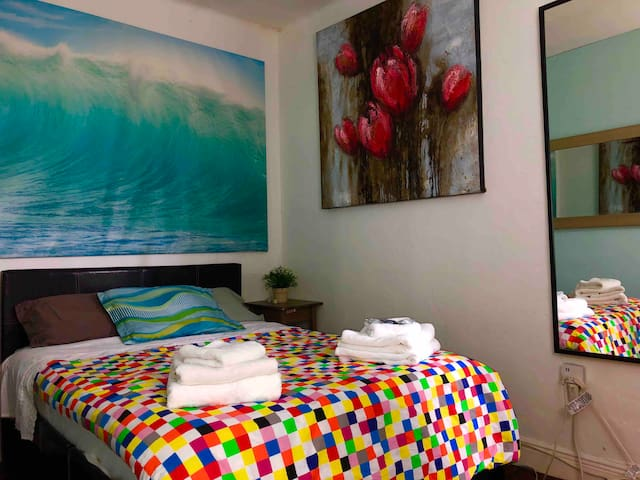 Great Private Room 3 Blocks By The Ocean