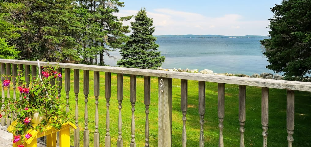 *NO GUEST SERVICE FEE* Grandma's Oceanfront Cottage in Port Medway