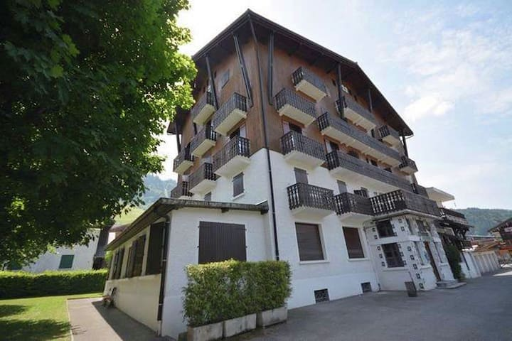 Apartment for 4 people, with balcony facing west in central Morzine