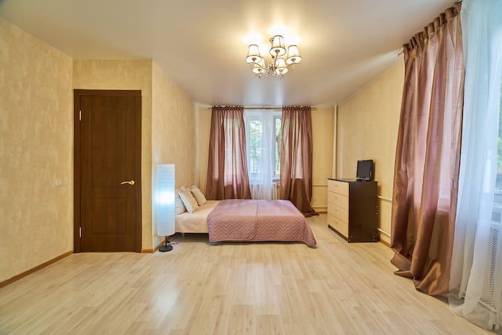 Уютная квартира в исторической части Москвы.