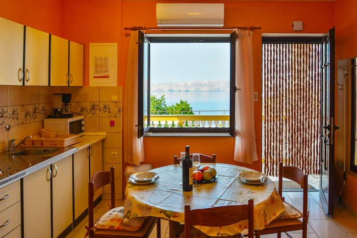 apartment 45 m2, 4 persons in Senj