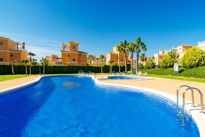 Villa Lo Crispin Algorfa - BBQ Garden Pool Quesada