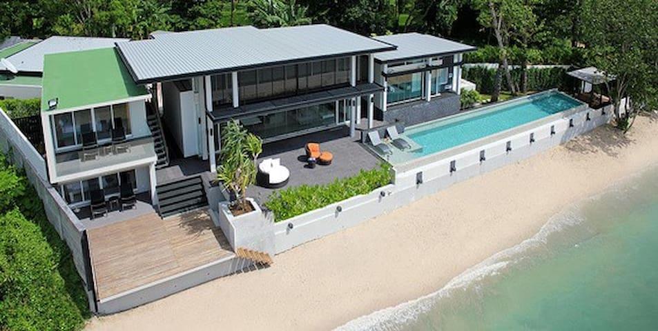 5star Beachfront Private Pool Villa - Tambon Kammala - Maison