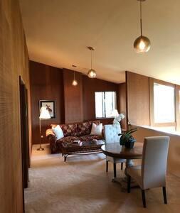 Private Loft Living Area plus Private Bed and Bath