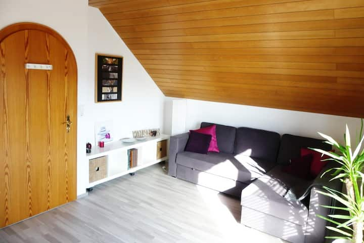 2 cosy, sunny rooms