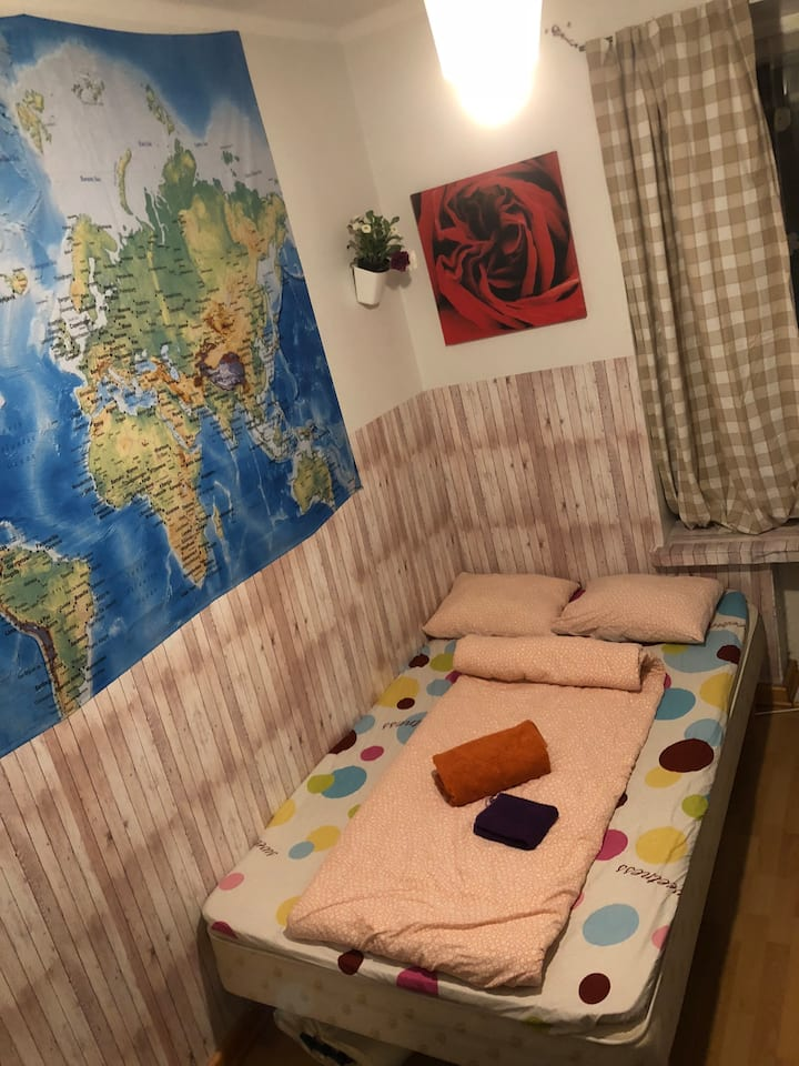 Lovely room of heart in the Kallio