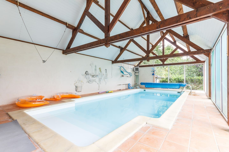 piscine couvert 30°