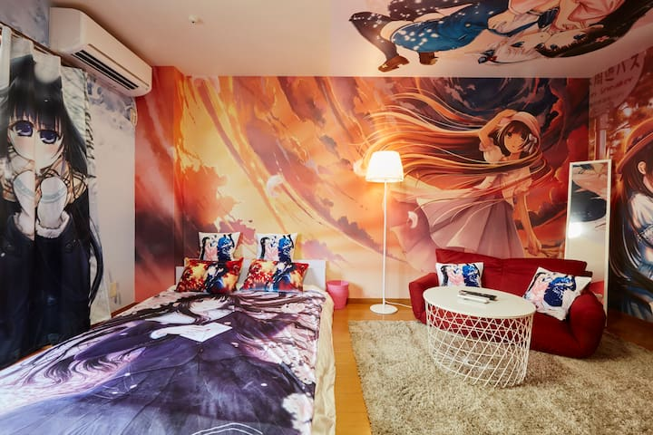 Close toTokyo/Otaku Anime Moe Room/FreePocketwifi - Matsudo-shi - Apartment
