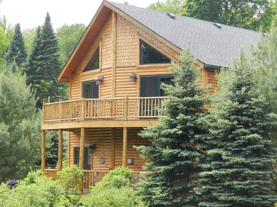 Cabin from the Blue Ribbon Trout Stream, the Maple River