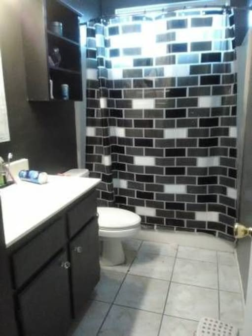 hallway main restroom