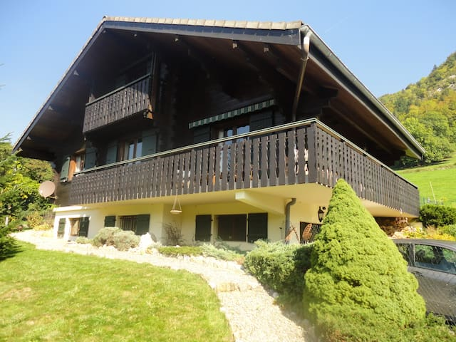 chalet ancien en madriers - Mieussy - Other