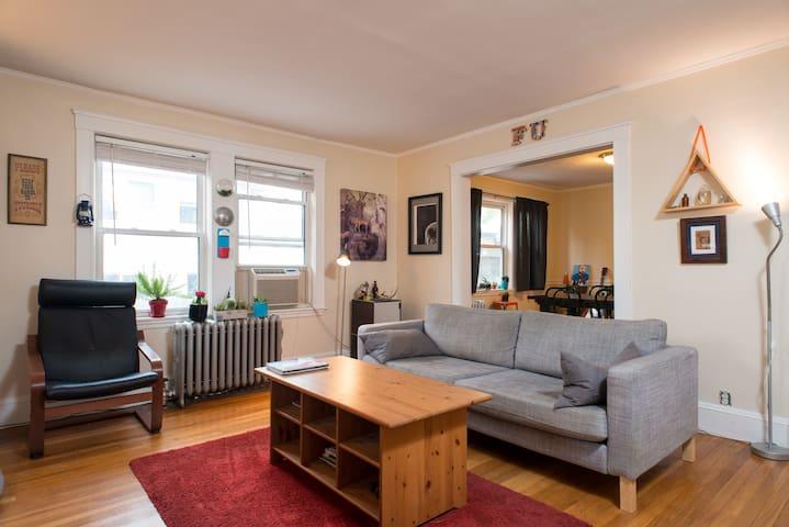 Bedroom in Arlington near Red Line - Arlington - Apartment