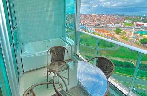 Le luxe et le confort dans le meilleur emplacement de Salvador!