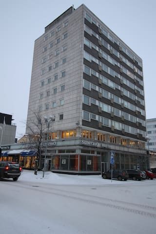 One bedroom apartment in Oulu, Kirkkokatu 4