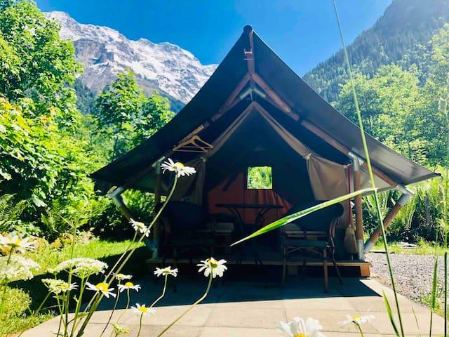 Safarizelt 2 Personen (MÖNCH) / Camping Rütti