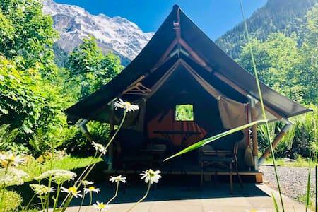 Safaritent 2 persons (MÖNCH) / Camping Rütti