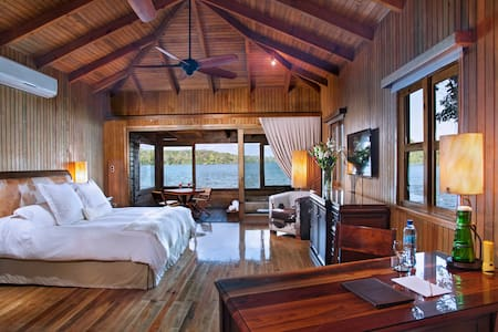 Waterfront Suite in the middle of the jungle.
