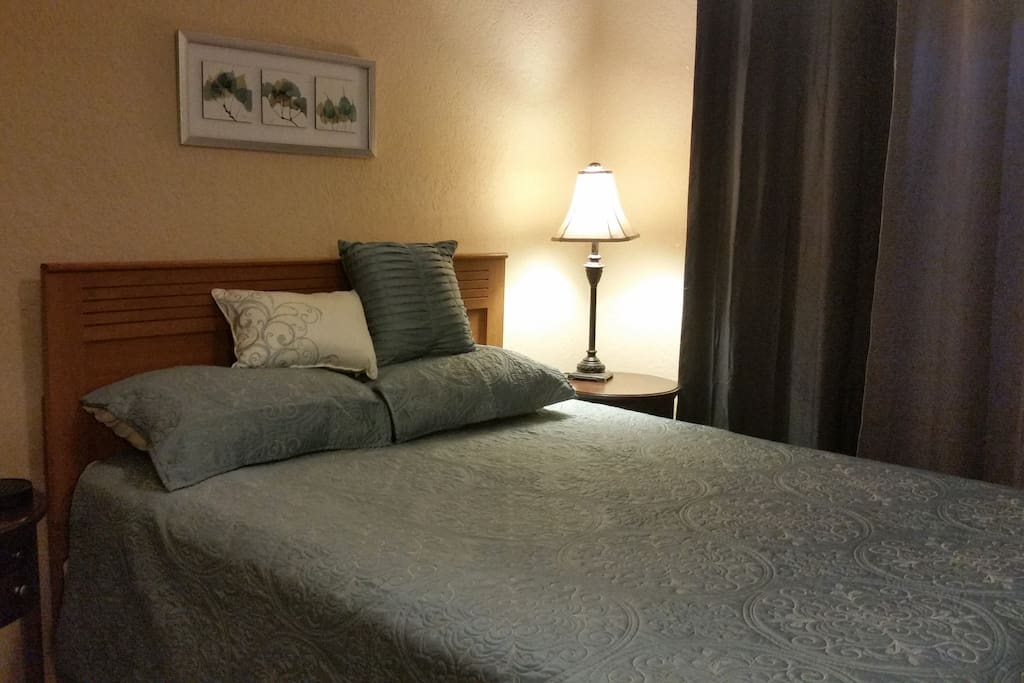 Cozy quiet room
