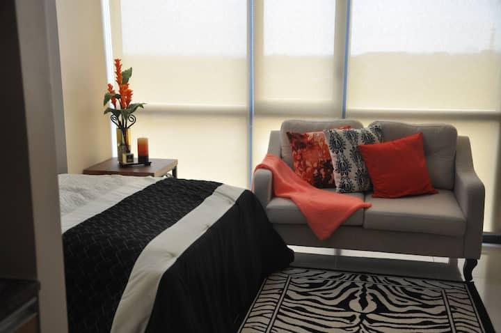 Beautiful Furnished studio condominium