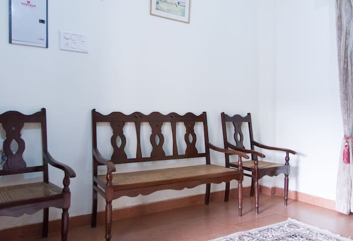 Fully furnished one bedroom house - Panjim - Casa