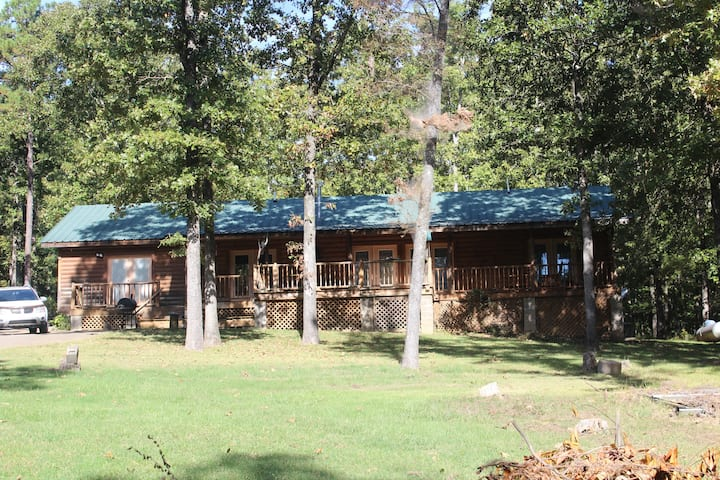 Upscale Log Cabin / Water Front / Pet @ ATV OK