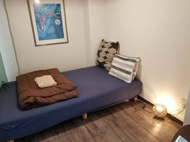 Cozy Room B Great Access 5mins Shin-Okubo Max2ppl