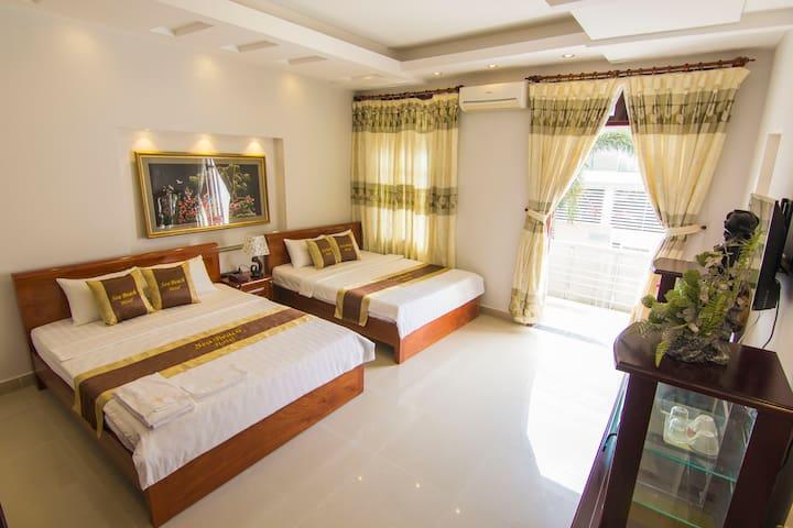 Sea Beach hotel-Private room with balcony
