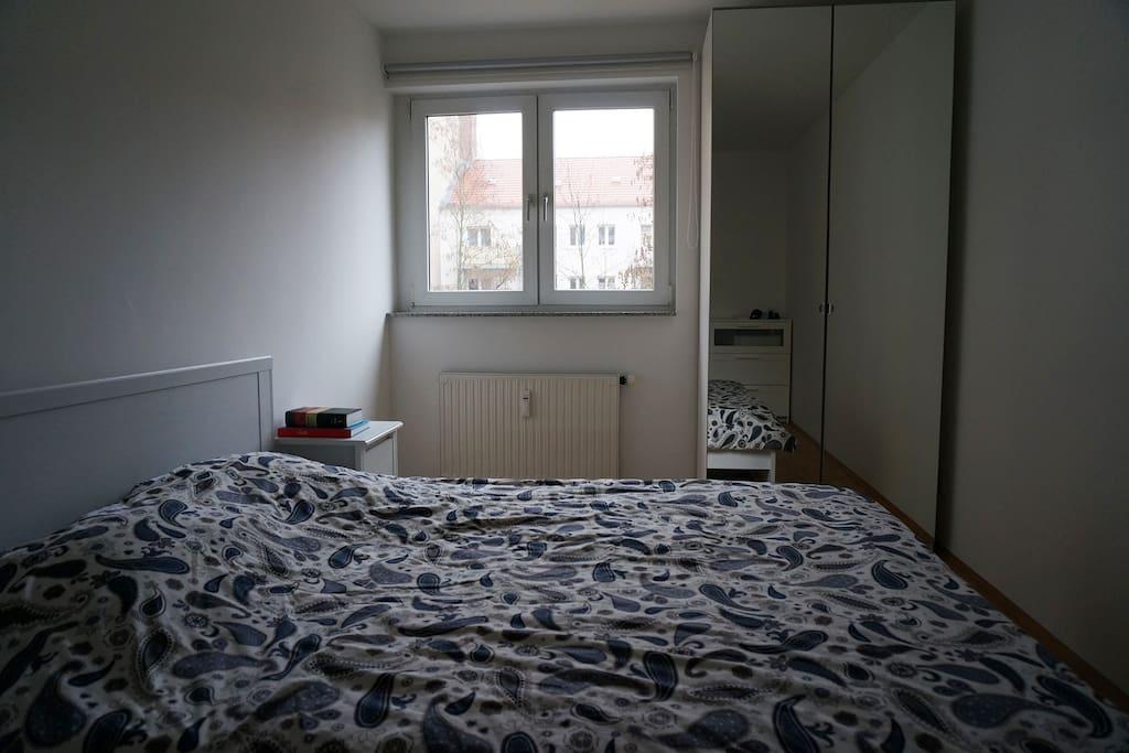 Wardrobe in the sleeping room