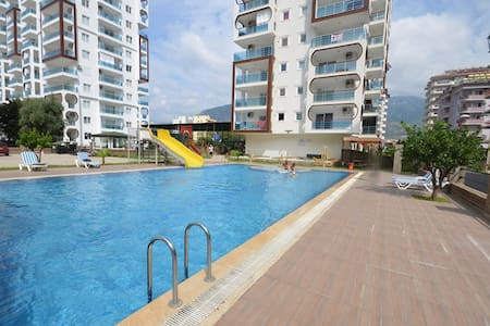 Extra location with a pool, Orange City - Mahmutlar Belediyesi