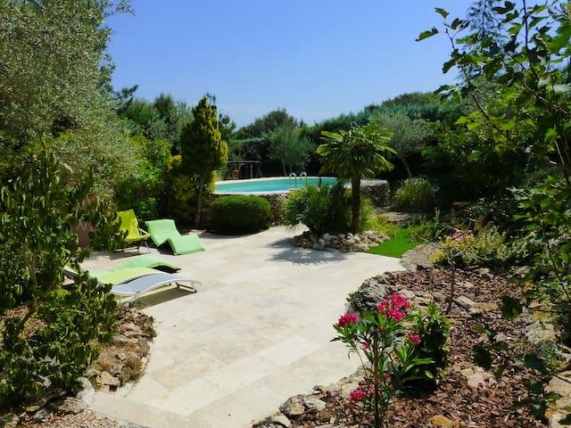 Provençal Mas solarium swim.pool