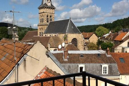 Apartment 2+ bedrooms, beautiful view from terrace - Chevreuse