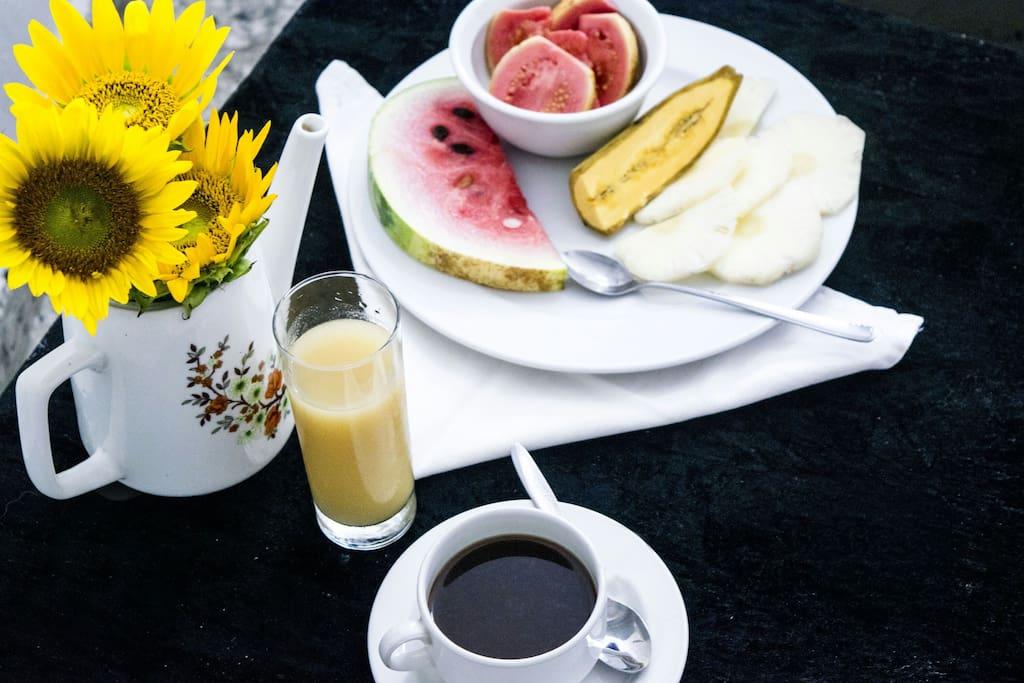 Servicios de Desayuno
