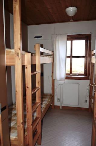 4 bunk beds