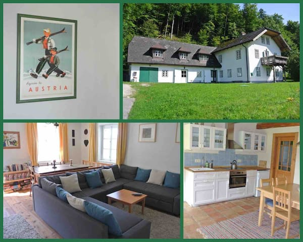 ※Large Family Home- Austrian Alps, Lake Attersee※