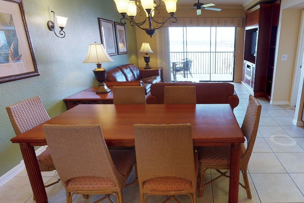 Main Living Room and Dining area