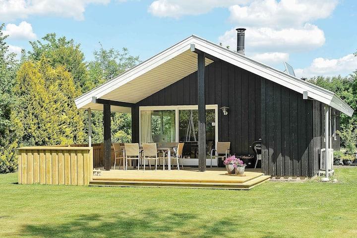 Maison de vacances moderne dans le Jutland avec jardin